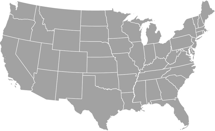 United States Cash For Cars Map